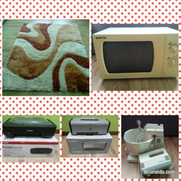Picture of CARPET, MICROWAVE, PRINTER & MIXER