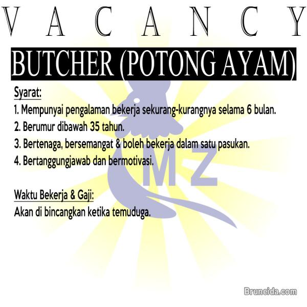 Picture of Butcher (Pemotong Ayam)