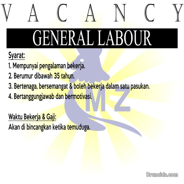 Picture of General Labour (Buruh Am)