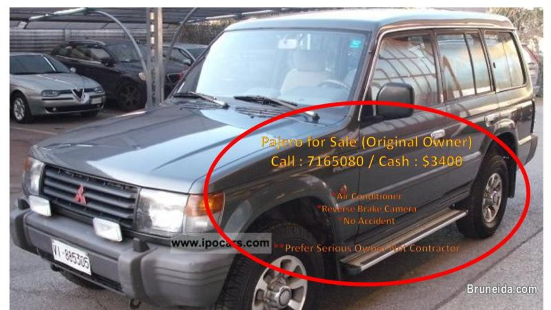 Picture of PAJERO FOR SALE (MANUAL)