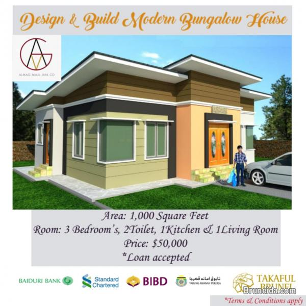 Picture of $50, 000 Design & Build Bungalow House