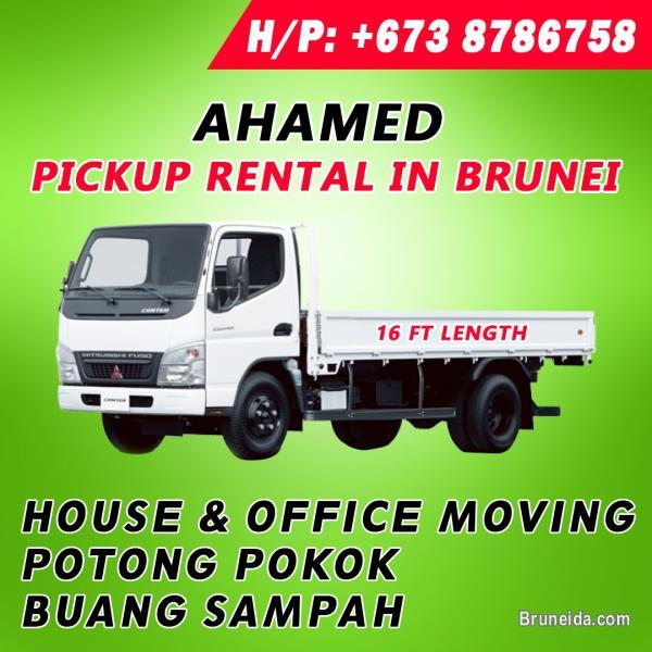 Pickup service in Brunei Muara