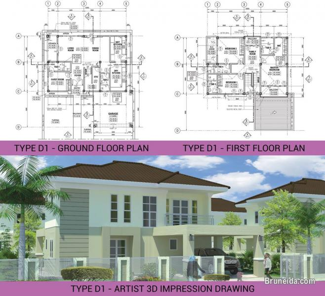 Jerudong 38 Units Residential House For Sale! in Brunei Muara