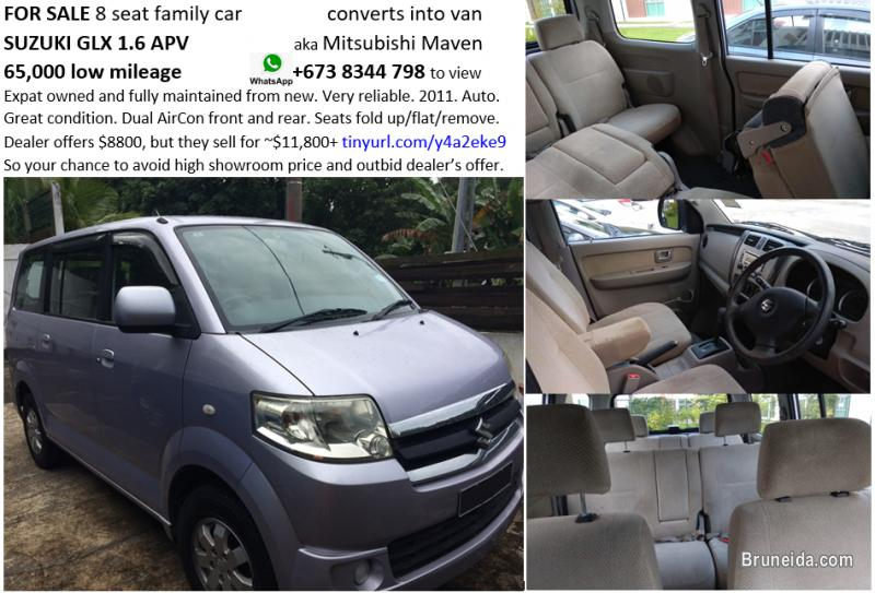Pictures of Suzuki apv 8 seats, low mileage 65k, $8800