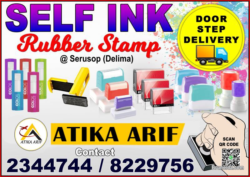 Pictures of SELFINK RUBBER STAMP - DOORSTEP DELIVERY