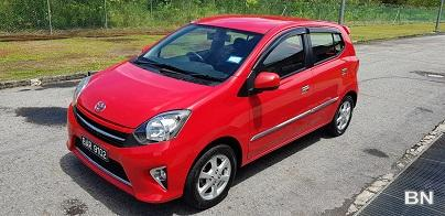 Picture of Toyota wigo 1. 0 year 2016 @ 5x, xxxkm