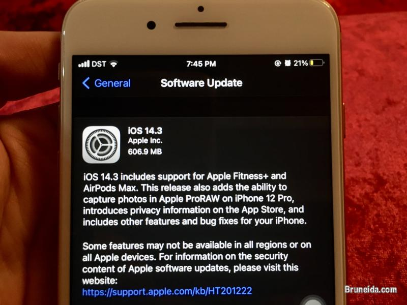 Picture of Iphone 8plus Gold 256GB in Brunei
