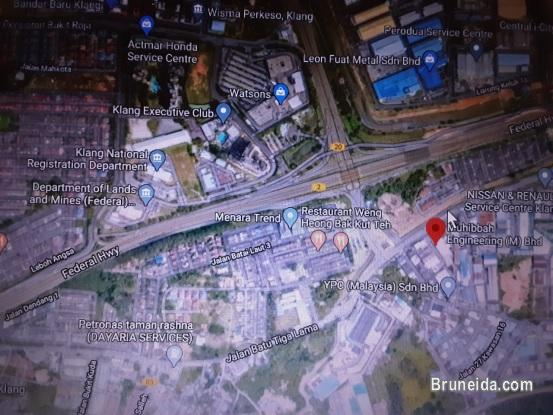 9. 053 hectares INDUSTRIAL LAND Klang, Selangor, MALAYSIA in Brunei