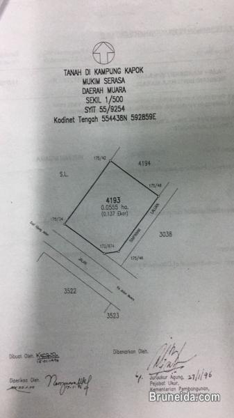 Proposed Double storey Detached house on lease land for Sale in Brunei Muara - image