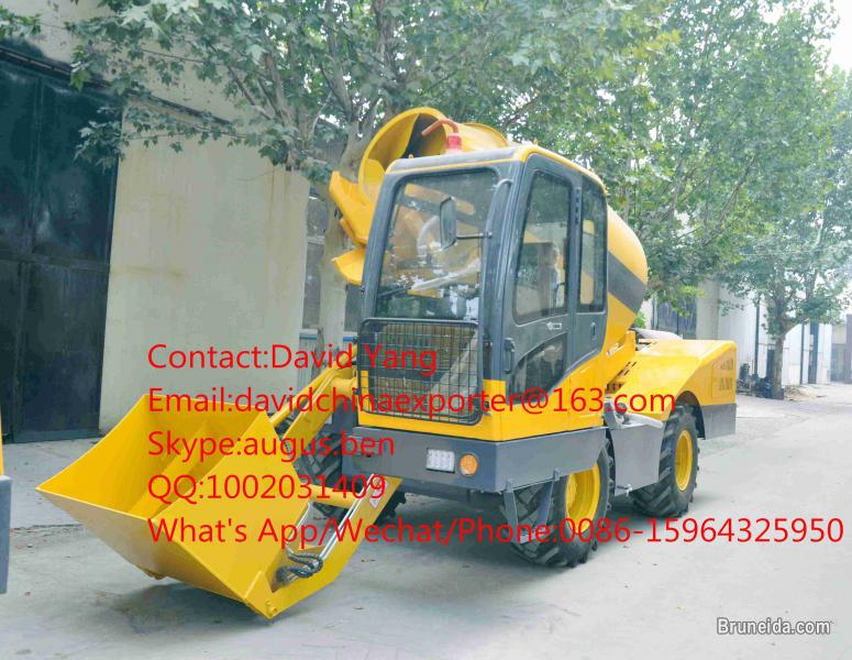 Picture of 4M3 self loading concrete mixer price