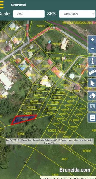 Tanah Untuk dijual in Brunei Muara