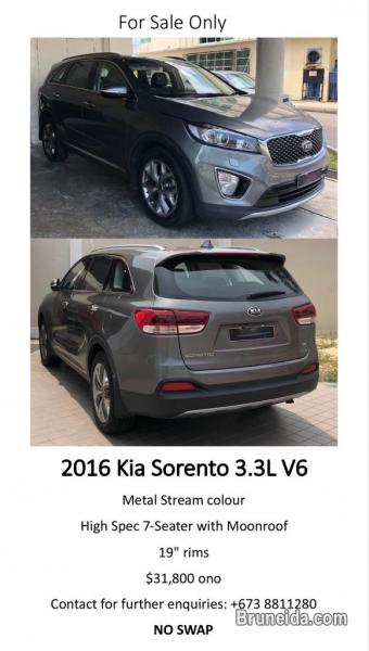 Picture of 2016 Kia Sorento 3. 3L V6