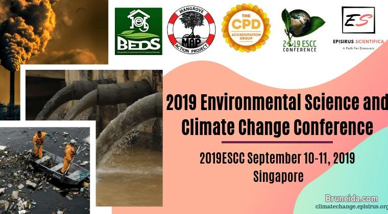 2019 Environmental Science and Climate Change Conference - image 1