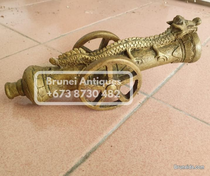 Picture of Various authentic bronze & copper Brunei antiques