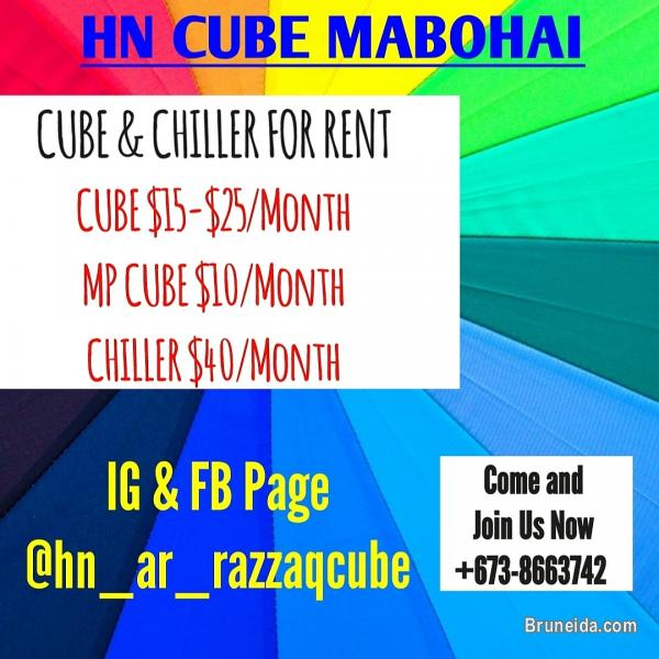 Picture of Cube & Chiller for rent