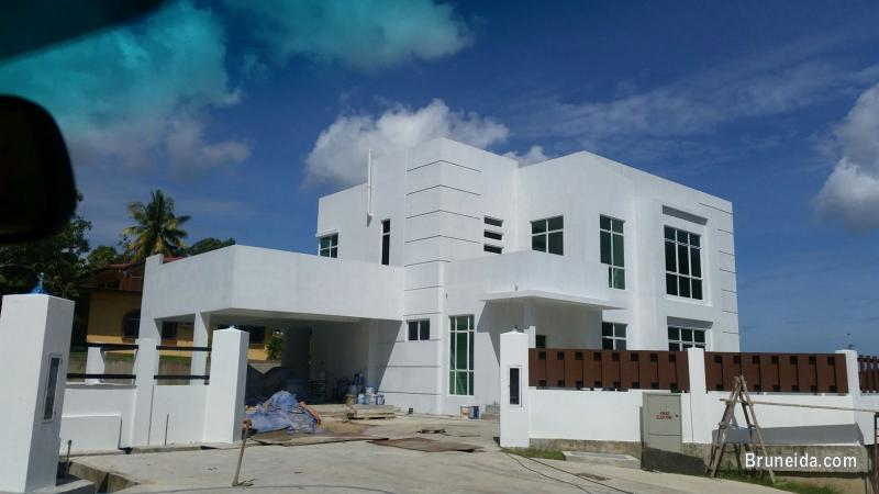 Pictures of Newly completed 2 units detached house for sale at Kg Sg. Hancing