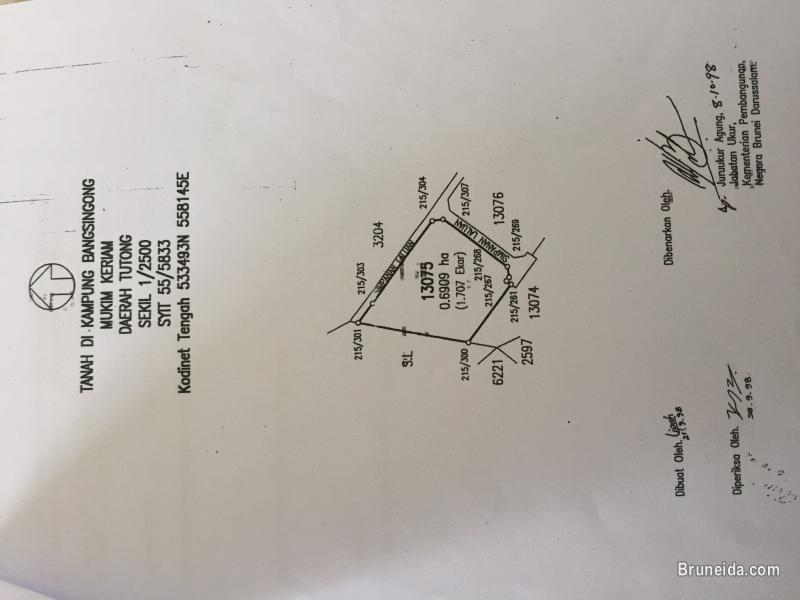 1. 707 Acres Keriam Land For Sale in Tutong