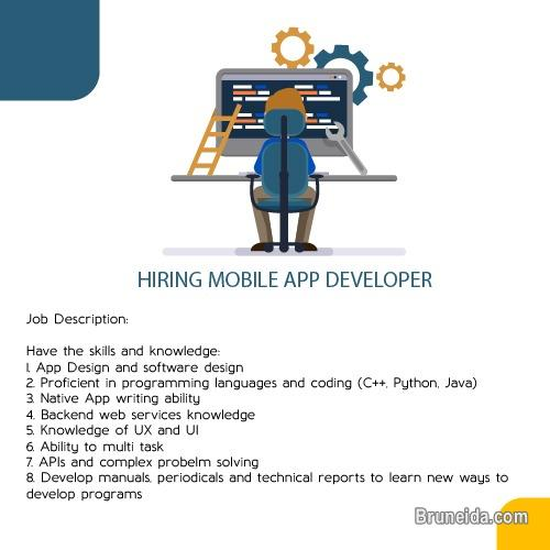 Picture of Hiring Mobile App Developer