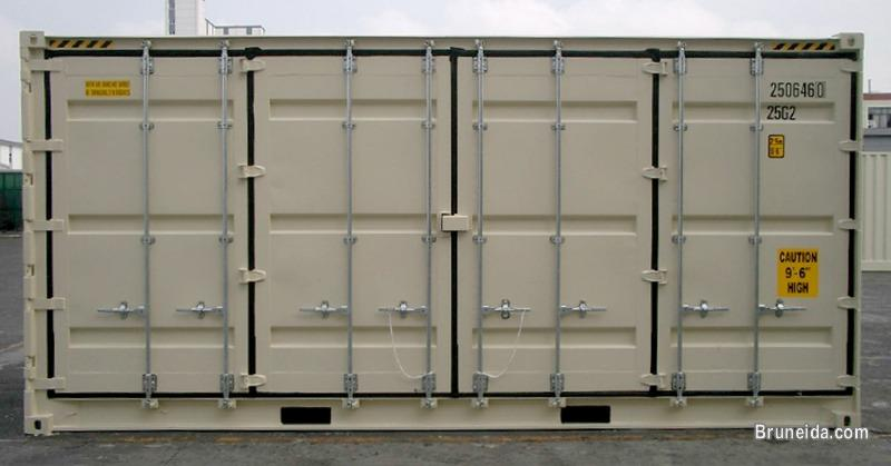 20FT Open Sites Access Container