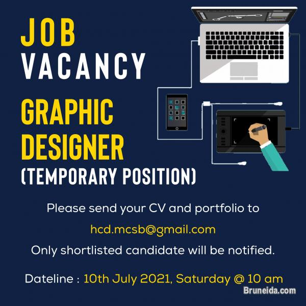Picture of GRAPHIC DESIGNER (TEMPORARY POSITION)