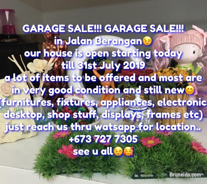 Picture of GARAGE SALE!! GARAGE SALE!! GARAGE SALE!!