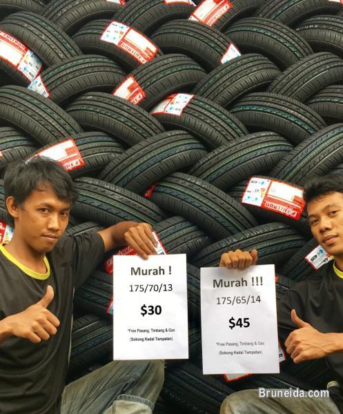 Picture of Kedai Tayar Baru Jerudong: MURAH-MURAH (quality new tyres)