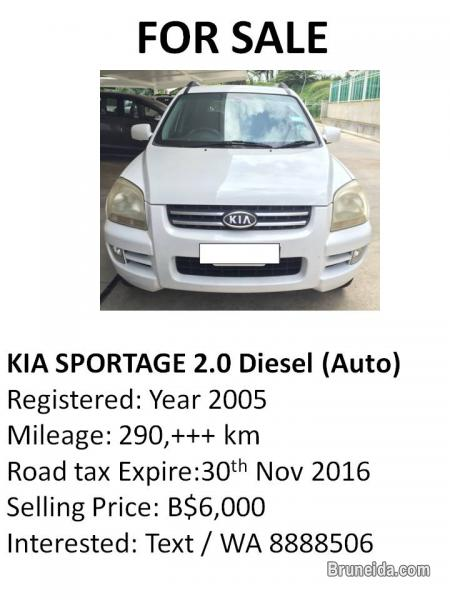 Picture of Kia Sportage 2. 0 Diesel (Auto) for Sale