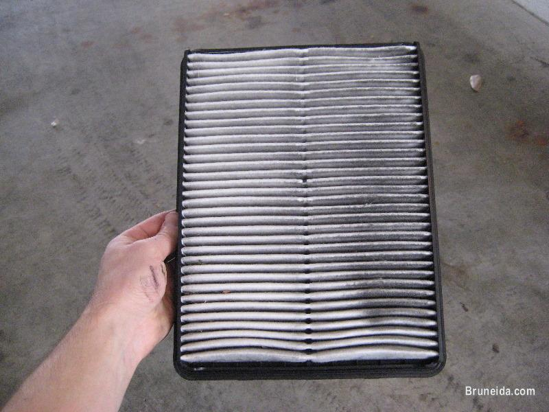 Picture of New Air Intake Filter