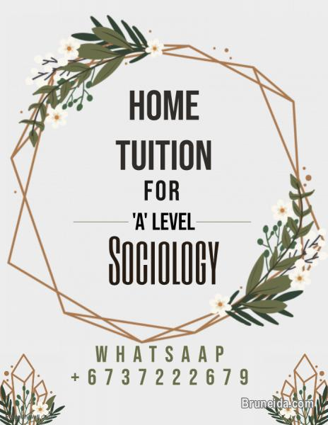Picture of SOCIOLOGY HOME TUITION FOR A LEVEL