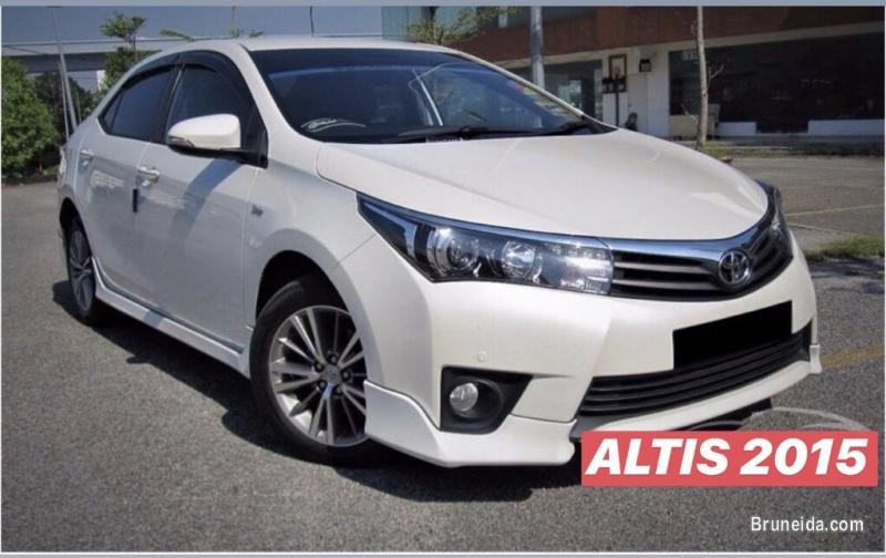 Picture of Toyota Altis 2015 for sale