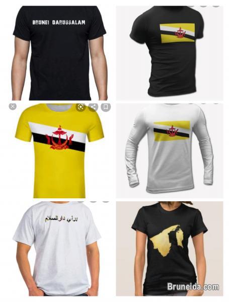 Pictures of Tshirts, Thobe, sinjang, songkok, caps