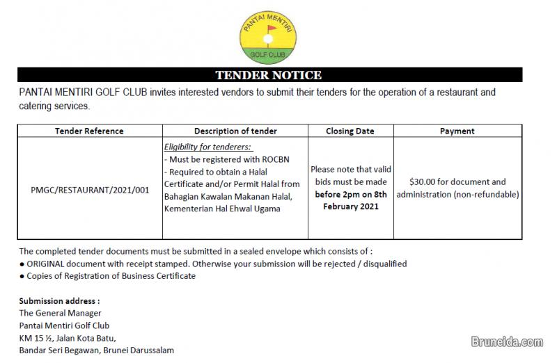 Picture of Restaurant tender