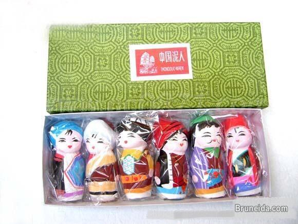 Picture of Clay figurines for home decoration