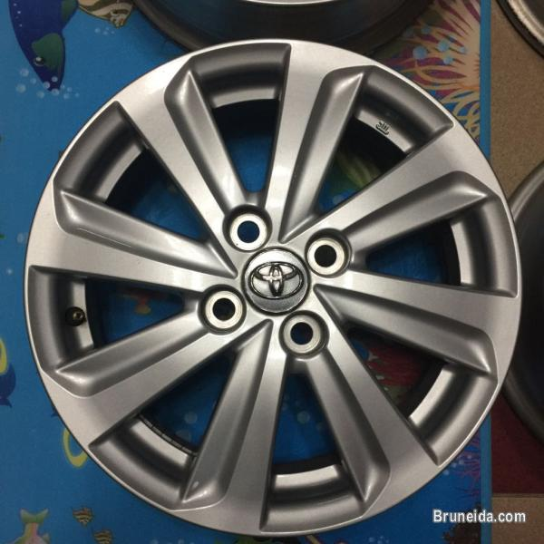 Toyota Vios 2013 Original rim.