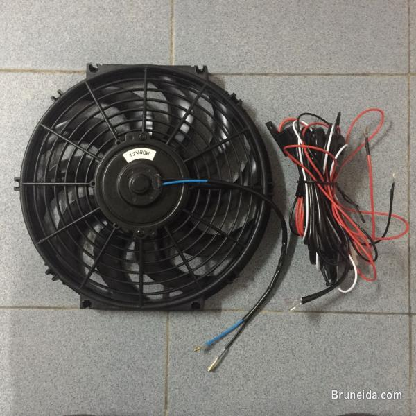 Electric fan relay wiring harness parts