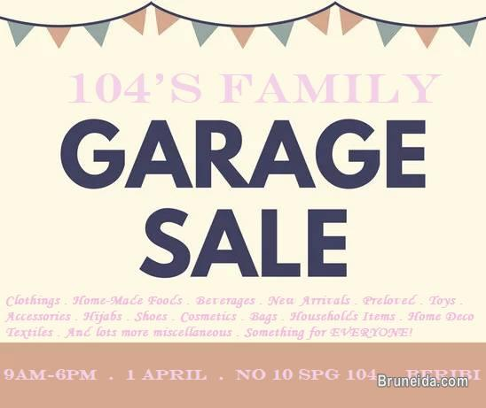 Picture of Garage Sale