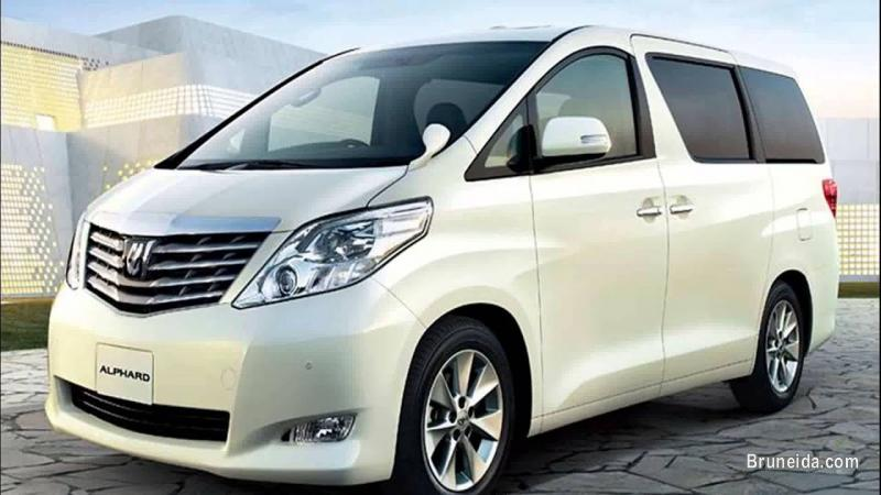 Picture of Urgent!! looking for used Toyota Alphard model 2014