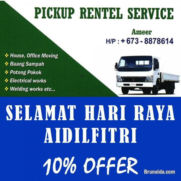 Picture of PICKUP RENTAL SERVICE