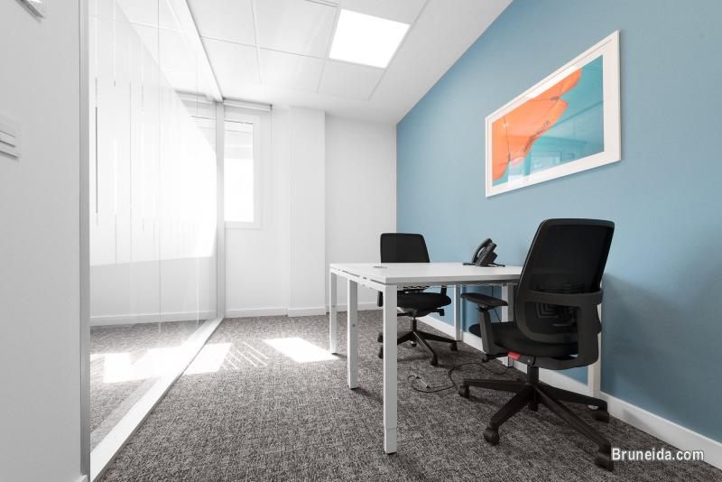 Picture of Work your way in a private office for two