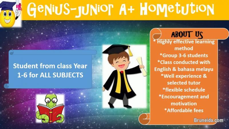 Pictures of Genius-junior A+ hometution