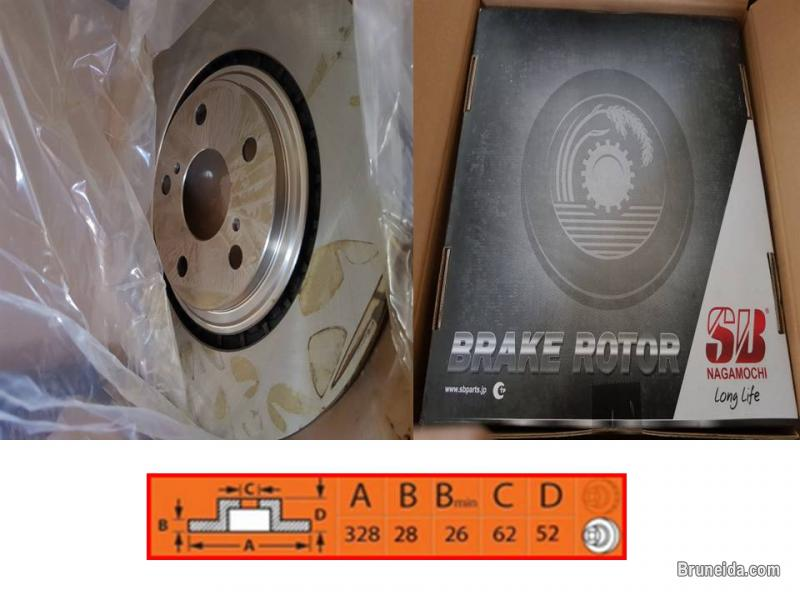 Picture of Brake Rotor Brand SB