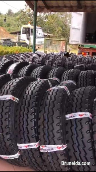 Picture of Tyres: Lorry (1000R20: $250 new) 1100R20, 295/80/22. 5, 11R22. 5,