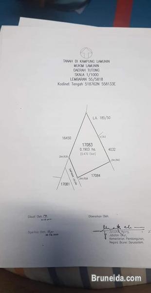 Picture of Tanah untuk djual Tutong lamunin 0. 4, 0, 3 ekar