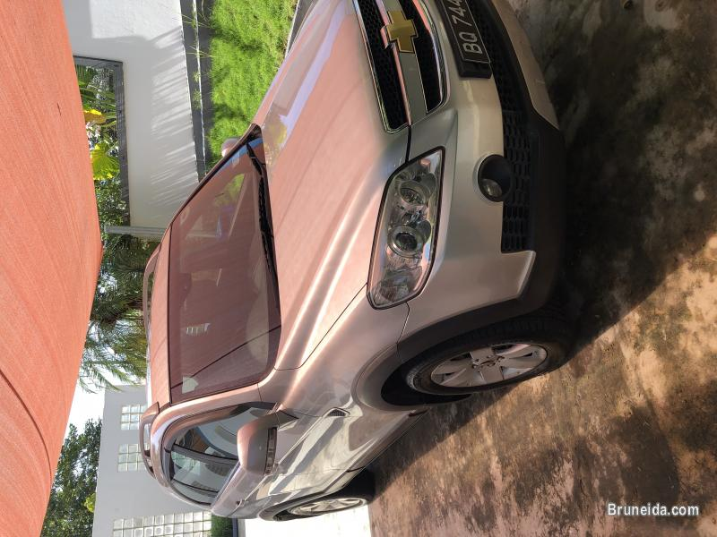 Picture of Silver Chevrolet Captiva