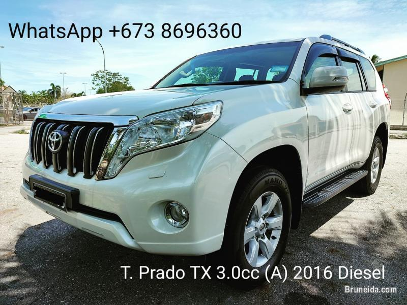 Pictures of Toyota Prado 3. 0cc TX (A) 2016 for Sales
