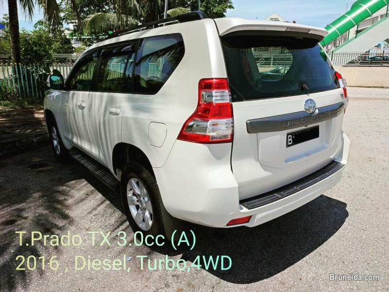 Picture of Toyota Prado 3. 0cc TX (A) 2016 for Sales in Brunei
