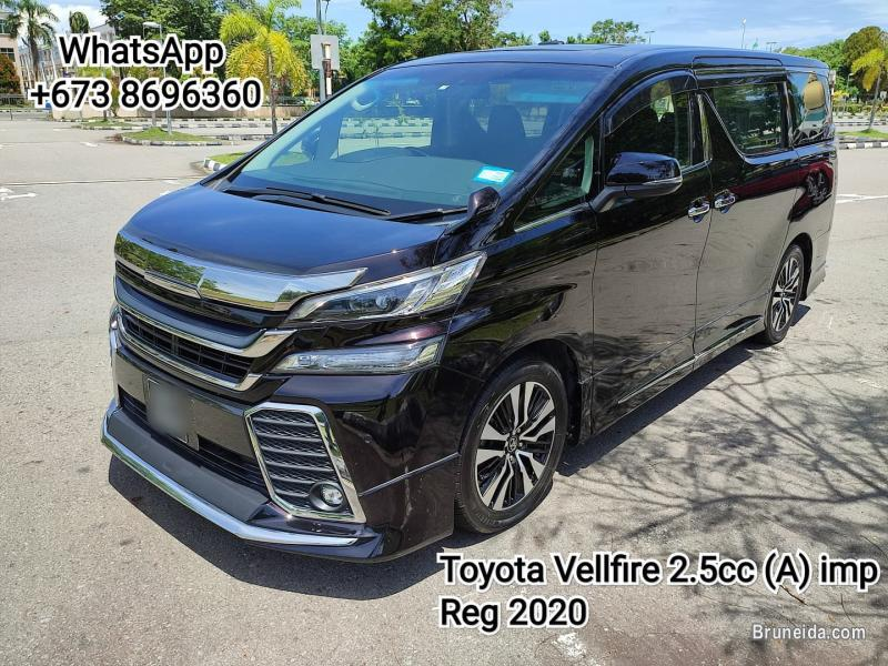 Picture of Toyota Vellfire 2. 5cc (A) Reg 2020 H/Spec Family car for SALES.