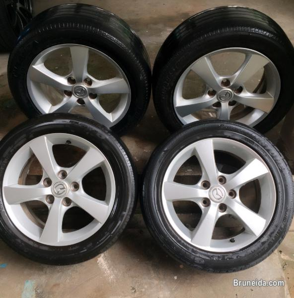 Pictures of Rim orignal mazda 3 5bolt for sale