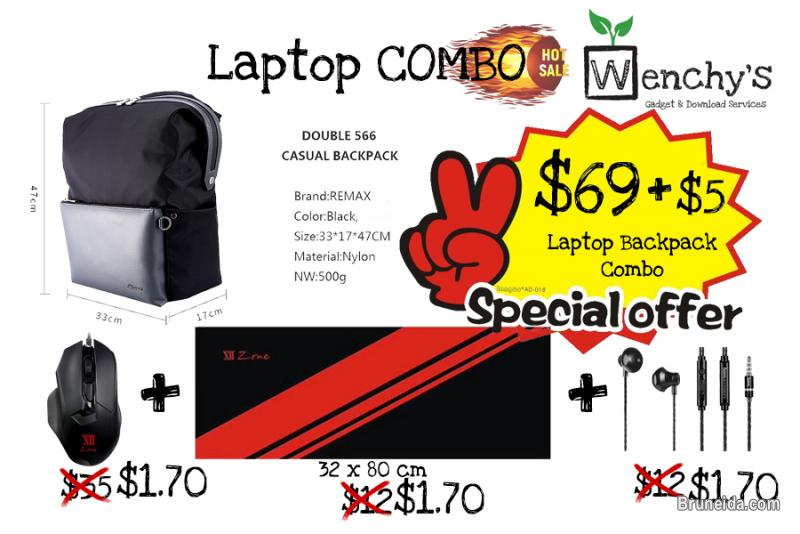 Picture of Laptop Backpack Combo