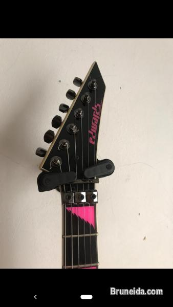 Picture of Signature Guitar of Children of Bodom`s Alexi in Tutong